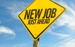 New Job Ahead graphic