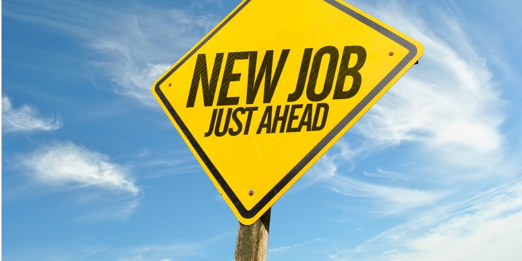 New Job Ahead graphic